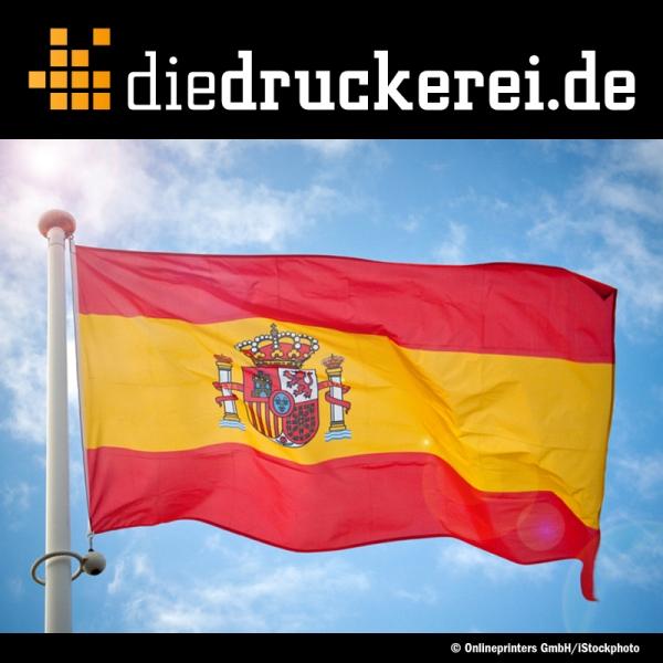 Günstige Drucksachen für Spanien