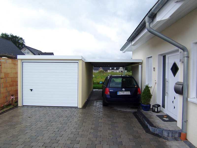 Fertiggarage mit carport  Garagen und Carports im neuen Design jetzt online