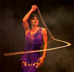 Artistik Showact mit Seilen