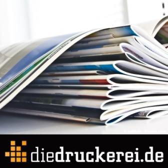 Günstige Broschüren ab einem Exemplar: diedruckerei.de