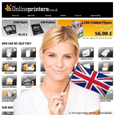 Drucksachen für UK online