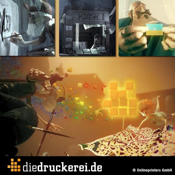 Der neue Werbespot von diedruckerei.de