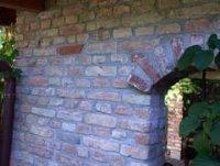 Sichtmauerwerk mit historischen Ziegeln