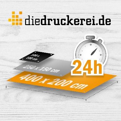 Schneller Digitaldruck für Planen © Onlineprinters GmbH