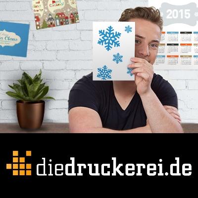 Weihnachtspost aus der Onlinedruckerei diedruckerei.de