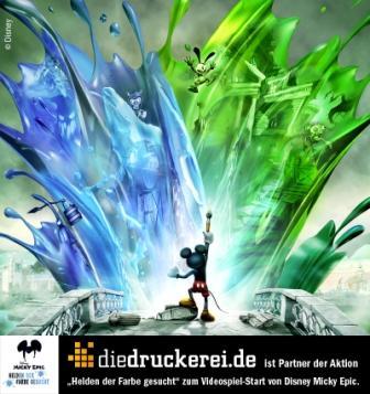 diedruckerei.de ist Partner der Aktion (C) Disney