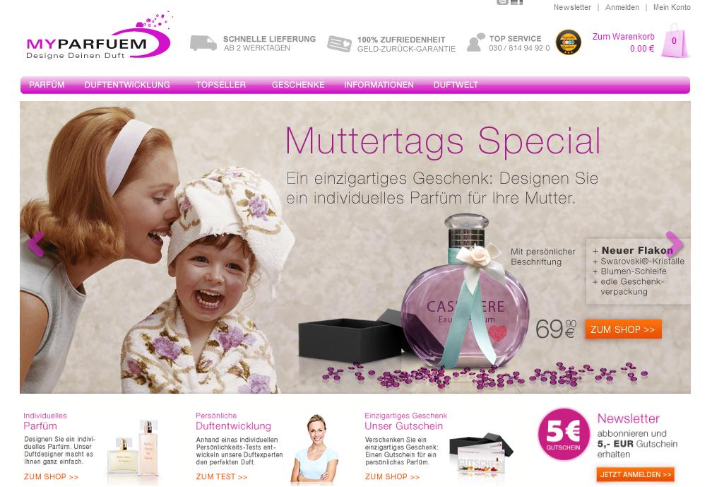 MyParfuem Muttertagsduft